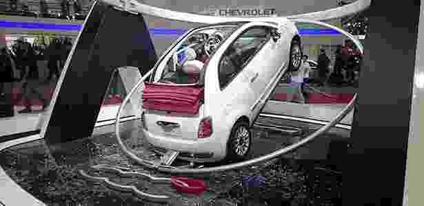 Fiat 500C desabado no Salão de São Paulo - Jorge Moraes/Auto Motor VRUM - Jorge Moraes/Auto Motor VRUM