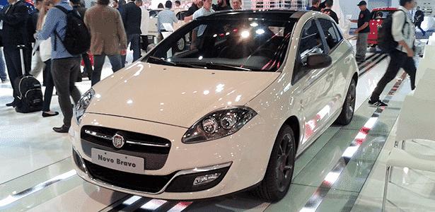 Fiat Novo Bravo no Anhembi - Leonardo Felix/UOL - Leonardo Felix/UOL