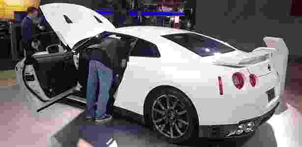 GT-R é um dos carros mais fotografados e visitados do estande da Nissan - André Deliberato/UOL