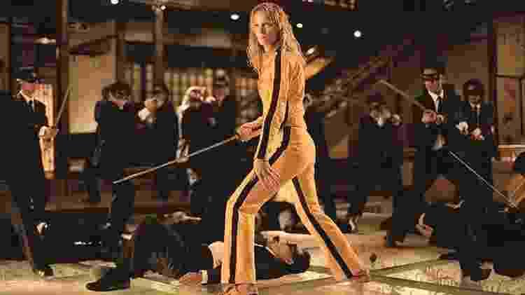 """""""Kill Bill"""", de Quentin Tarantino, estrelado por Uma Thurman - Reprodução - Reprodução"""