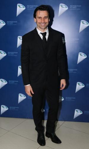 29.out.2014- Murilo Rosa marca presença no 36º Prêmio Profissionais do Ano da Globo, no HSBC Brasil, em São Paulo