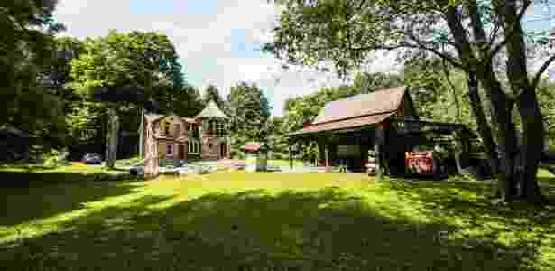 Melissa Leo sempre sonhou em ter uma torre na parte de trás de dua casa de fazenda - Randy Harris/ The New York Times