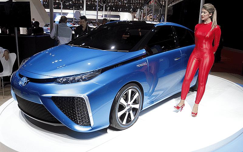 Toyota FCV Concept - Ivan Ribeiro/Folhapress
