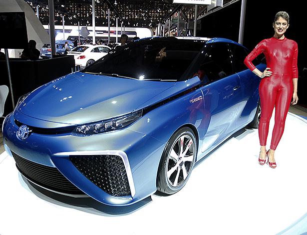 Toyota FCV Concept, movido a célula de hidrogênio: ótima ideia, mas muito cara - Ivan Ribeiro/Folhapres