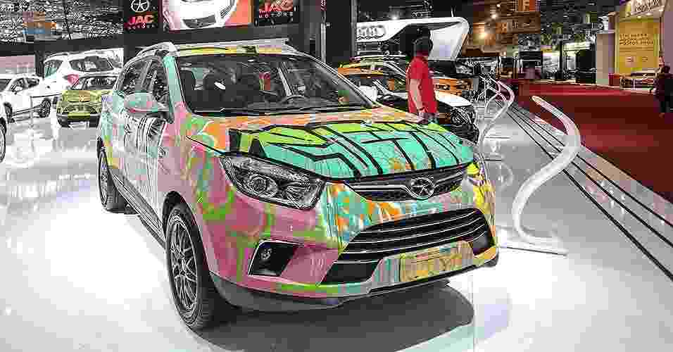 JAC T6 grafitado - Vanessa Carvalho/Brazil Photo Press