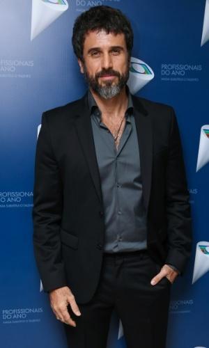 29.out.2014 - Eriberto Leão prestigia o 36º Prêmio Profissionais do Ano da Globo, no HSBC Brasil, zona sul de São Paulo, na noite desta quarta-feira