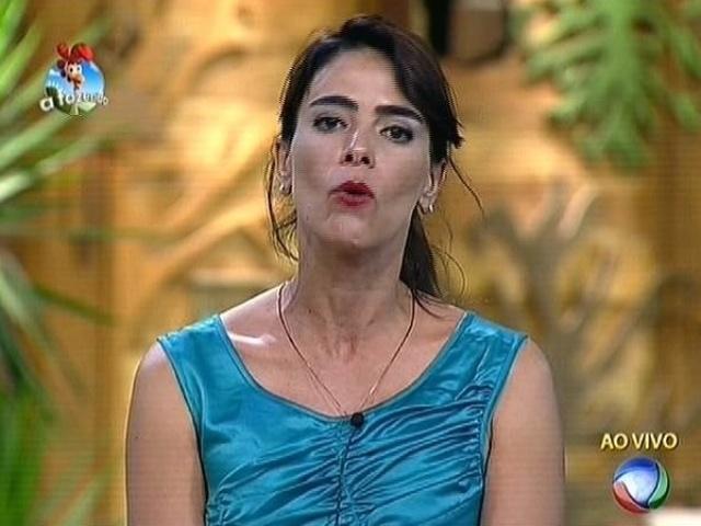 30.out.2014 - Heloisa Faissol afirma que gostaria que Felipeh campos estivesse na roça desta quinta (30)