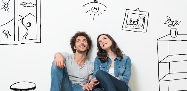 Antes de quebrar uma parede ou comprar um móvel, planeje com cuidado a decoração - Getty Images