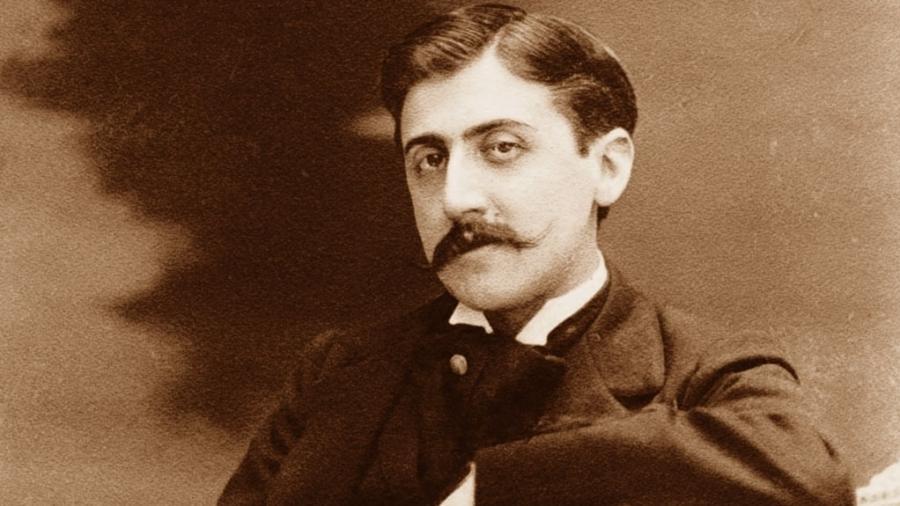 O escritor francês Michel Proust - Divulgação