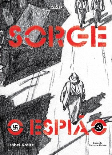 """Capa da HQ """"Sorge - O Espião"""" (Veneta)"""