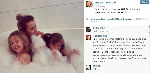 """Roberto Justus se irrita e defende namorada no Instagram: """"Quanta gente ridícula e mal amada"""""""
