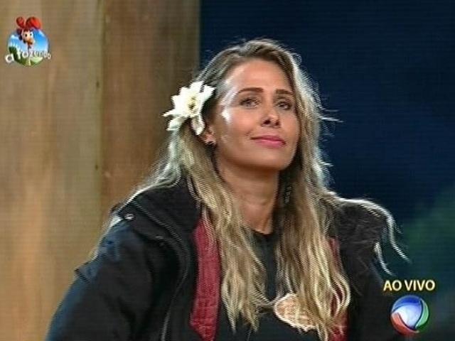 3.nov.2014 - Andréia Sorvetão é escolhida pela equipe Coelho para integrar a sétima roça de