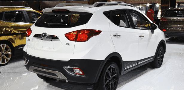 JAC T5, assim como o T6, tem inspiração visual no SUV coreano ix35, da Hyundai - Murilo Góes/UOL - Murilo Góes/UOL