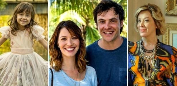"""Personagens da novela """"Alto Astral"""", da Rede Globo"""