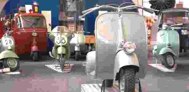 "Museo Piaggio reúne diferentes modelos de ""Vespas"", as famosas motos italianas - Divulgação/Fondazione Piaggio Onlus"