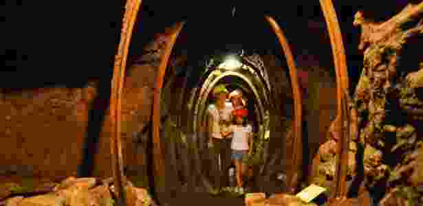 Visita à antiga mina de cobre de Montecatini Val di Cecina - Alfredo Santucci/UOL