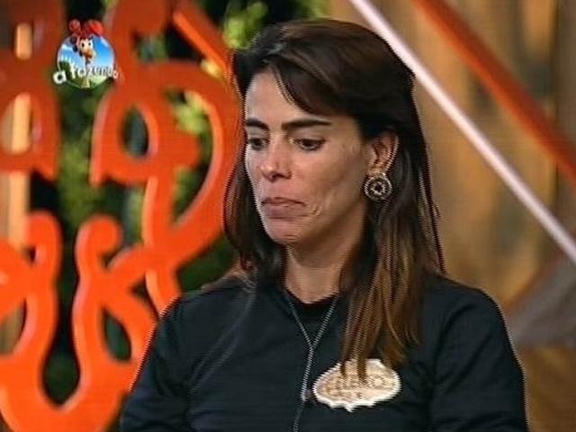 3.nov.2014 - Heloisa Faissol indica Robson Caetano para a sétima roça de