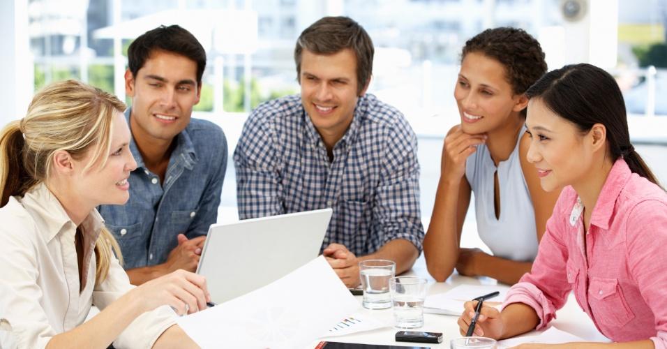 reunião, trabalho, emprego, encontro