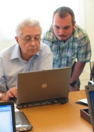 Aguinaldo Silva e Maurício Gyboski