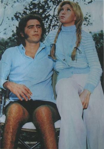 Cantora Wanderléa posa ao lado do ex-marido José Renato Barbosa de Medeiros, filho de Chacrinha, que morreu na quinta-feira, 6, de novembro, após complicações respiratórias e cardiológicas, no Rio de Janeiro