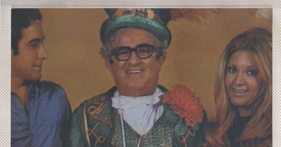 José Renato Barbosa de Medeiros, filho de Chacrinha (centro) morreu na quinta-feira, 6, de novembro, após complicações respiratórias e cardiológicas, no Rio de Janeiro