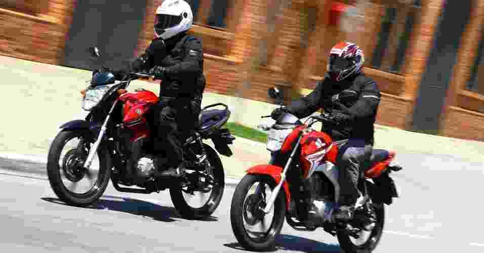 Honda CG 150 Titan EX vs. Yamaha Fazer 150 ED - Mario Villaescusa/Infomoto