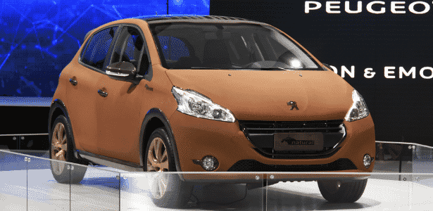 Peugeot 208 Natural - Murilo Góes/UOL - Murilo Góes/UOL
