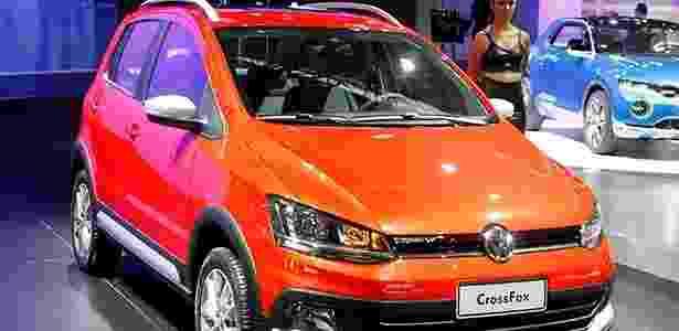 Volkswagen CrossFox 2015 chega a partir de R$ 57.990, mas pode custar até R$ 73.912 - Ivan Ribeiro/Folhapress