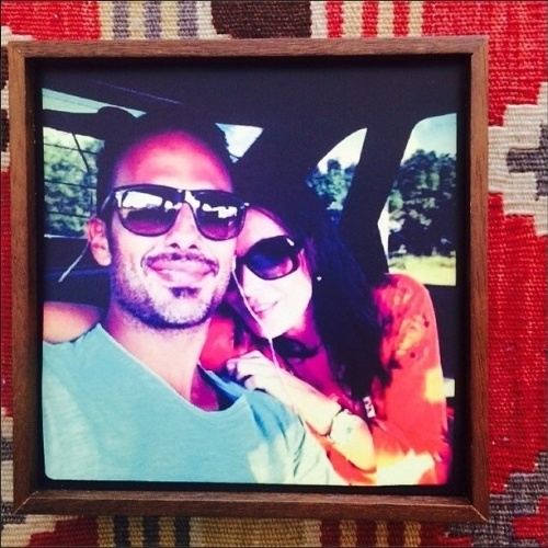 8.nov.2014 - Depois do anúncio de que está grávida pela segunda vez, Carolina Ferraz, 46, usou o Instagram para agradecer aos fãs