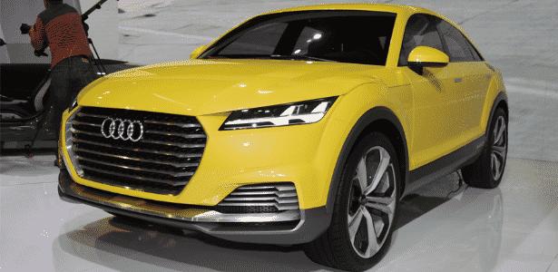Audi TT offroad concept - Murilo Góes/UOL - Murilo Góes/UOL