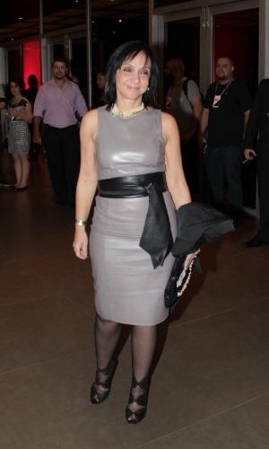 11.nov.2014- A diretora Cininha de Paula prestigia o Prêmio Extra de Televisão