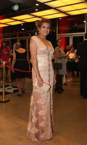11.nov.2014- Nívea Stelmann mostra que já está em forma sete meses após dar a luz Bruna