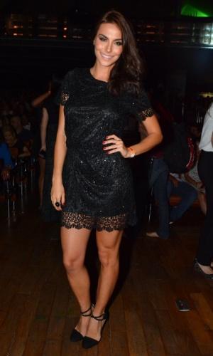 11.nov.2014 - A atriz Mel Fronckowiak marca presença na 13ª edição do Prêmio Jovem Brasileiro no Palácio das Convenções do Anhembi, na zona norte de São Paulo, na noite desta terça-feira