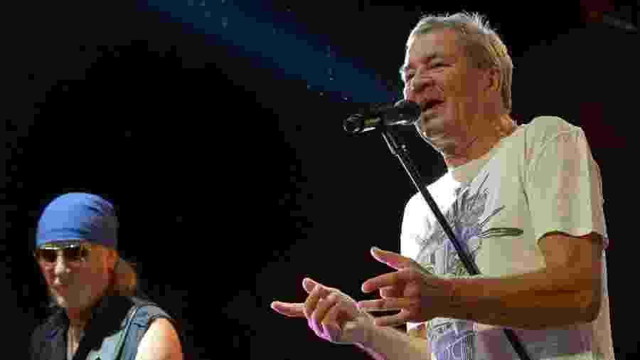 11.nov.2014 - Deep Purple se apresenta no Espaço das Américas, em São Paulo - Francisco Cepeda/AgNews