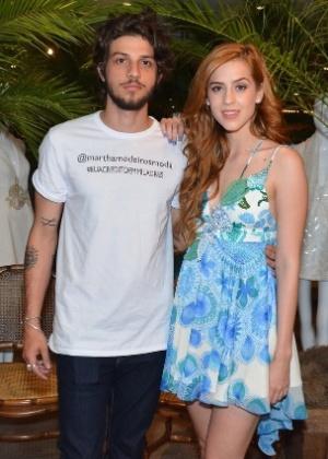 Chay Suede e Sophia Abrahão - Caio Duran/Photo Rio News