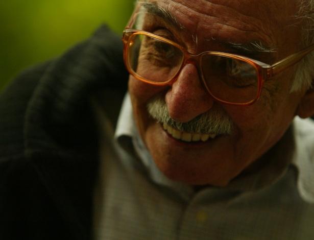 O poeta Manoel de Barros, que morreu nesta quinta-feira - Tuca Vieira/Folha Imagem