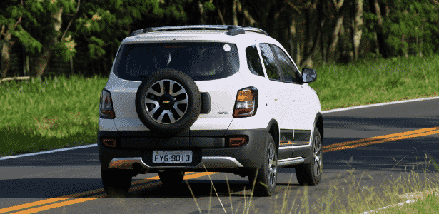 Chevrolet Spin Activ 2015 estepe - Murilo Góes/UOL - Murilo Góes/UOL