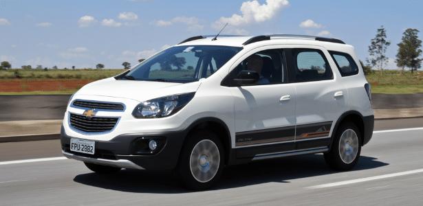 Chevrolet Spin 2015: 795 unidades devem ser verificadas - Murilo Góes/UOL