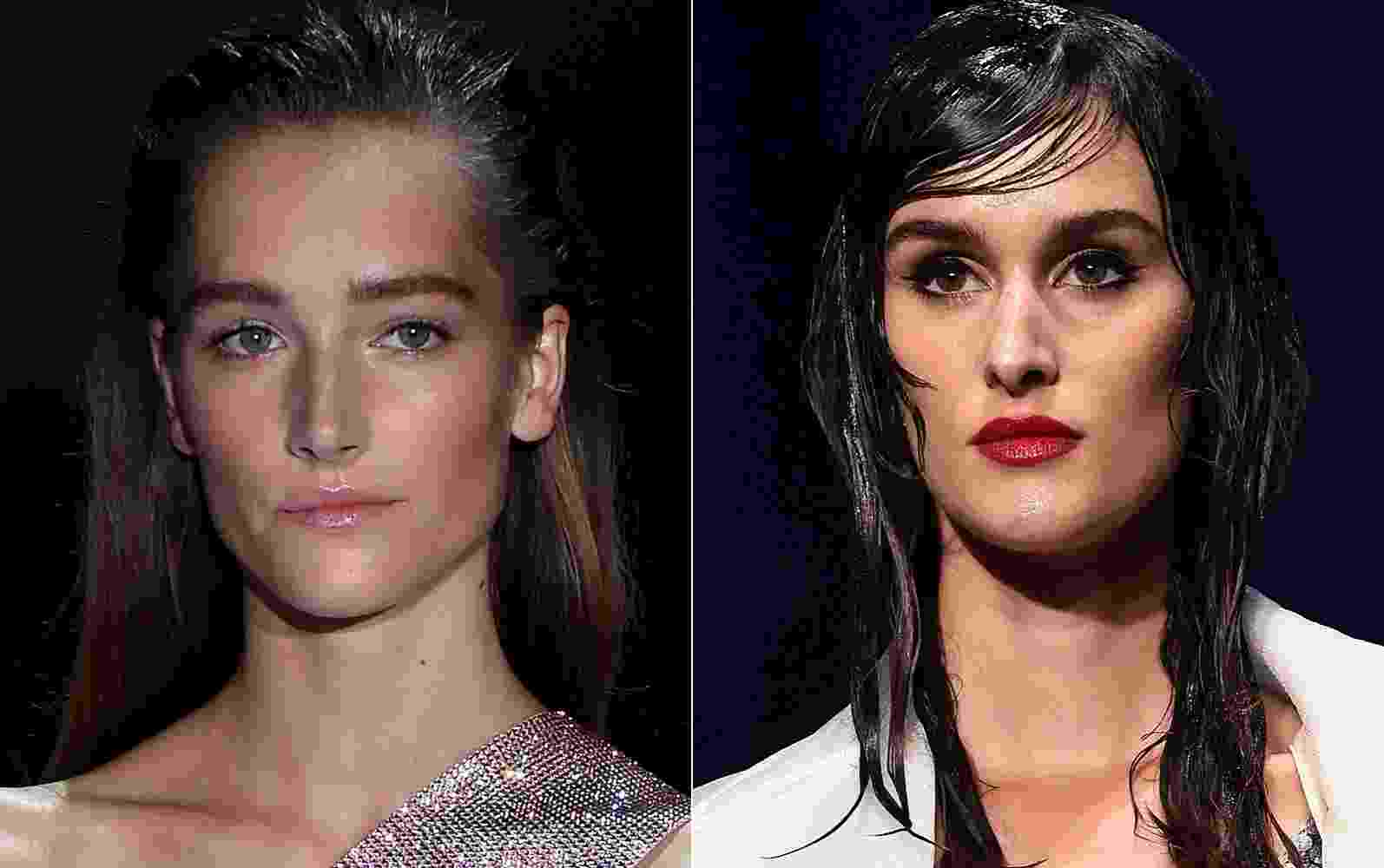 Versace e Jean Paul Gaultier - Getty Images/Montagem/UOL