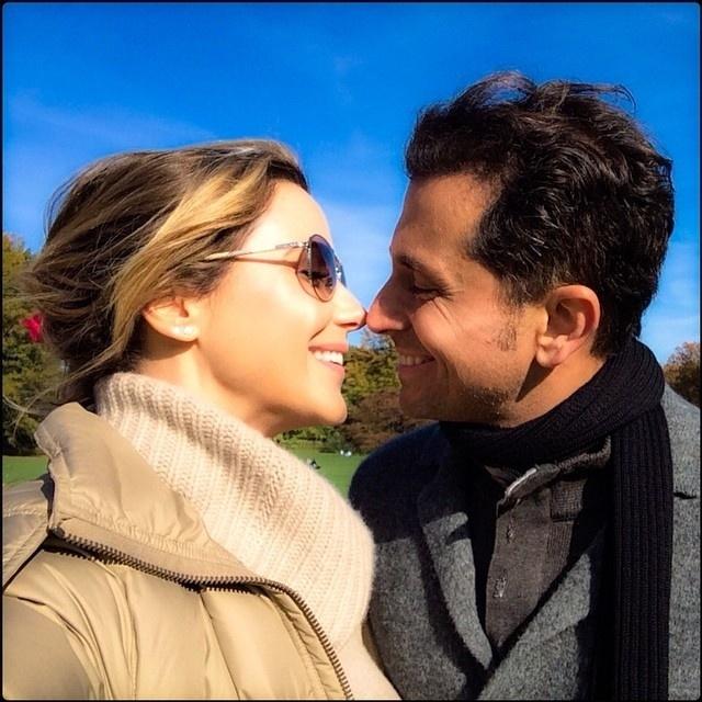 14.nov.2014- Guilhermina Guinle e o marido, Leonardo Antonelli, estão nos Estados Unidos desde o início de novembro. Depois de passar por Miami, os dois estão em Nova York. Nesta sexta-feira (14), a atriz publicou em seu Instagram uma imagem do casal.