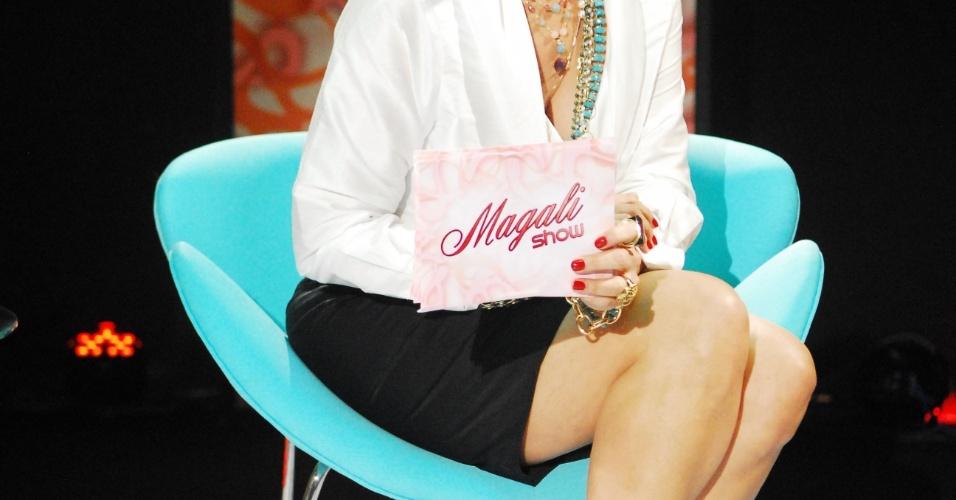 """A atriz Betty Lago em cena do episódio """"A câmera escondida, o chá de fralda e o porta-mala"""", da série """"Casos e Acasos"""", da Globo (2008)"""