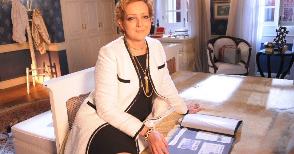 """A última personagem que Betty Lago interpretou na televisão foi em """"Pecado Mortal"""". Viveu a personagem Stella na trama de Carlos Lombardi entre setembro/2013 e maio/2014"""