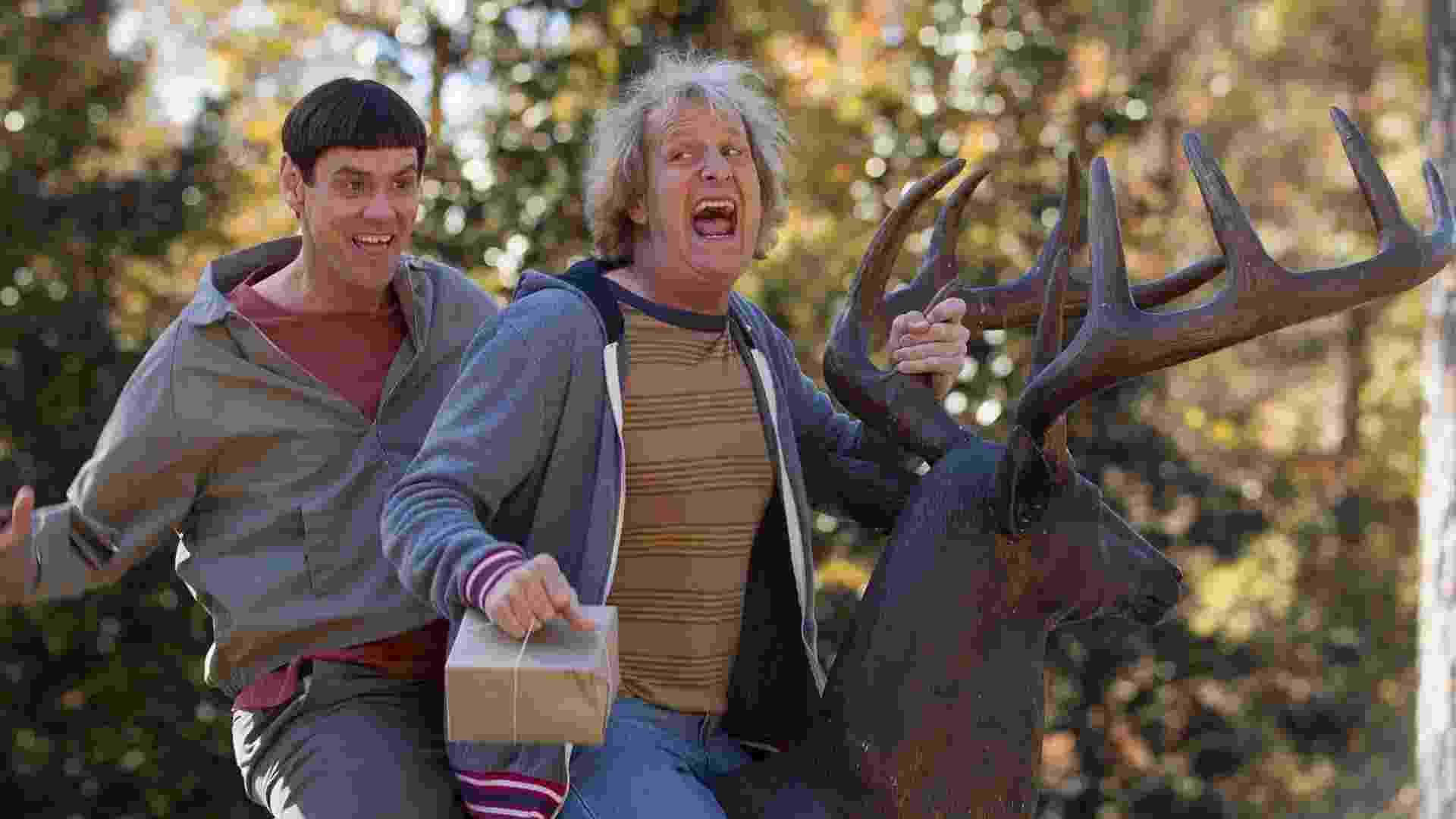 """Cena do filme """"Dumb and Dumber To"""", sequência de """"Débi e Lóide"""" (1994) - Reprodução"""