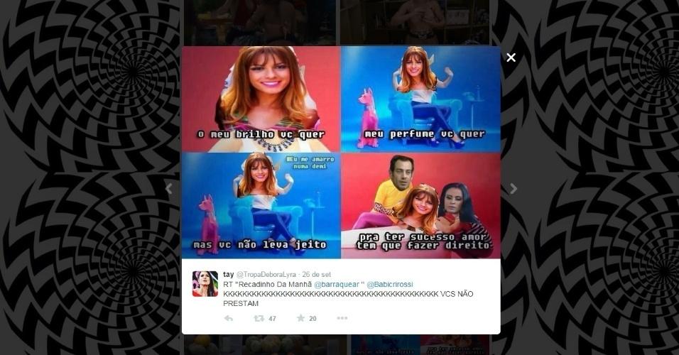 "Memes de ""A Fazenda 7"" - Babi Rossi"