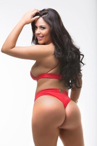 Rebeka Francys, 23 anos, miss Rondônia ficou em 11° lugar na na votação popular realizada pela internet