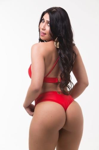 Vanussa Hoppe, 28 anos, miss Mato Grosso do Sul ficou em 6° lugar na votação popular do concurso realizado pela internet