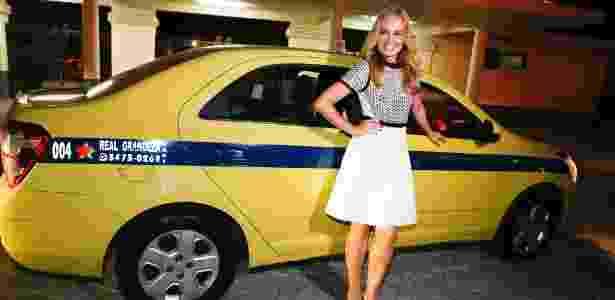 Angelica táxi - Alex Palarea e Felipe Panfili/AgNews - Alex Palarea e Felipe Panfili/AgNews