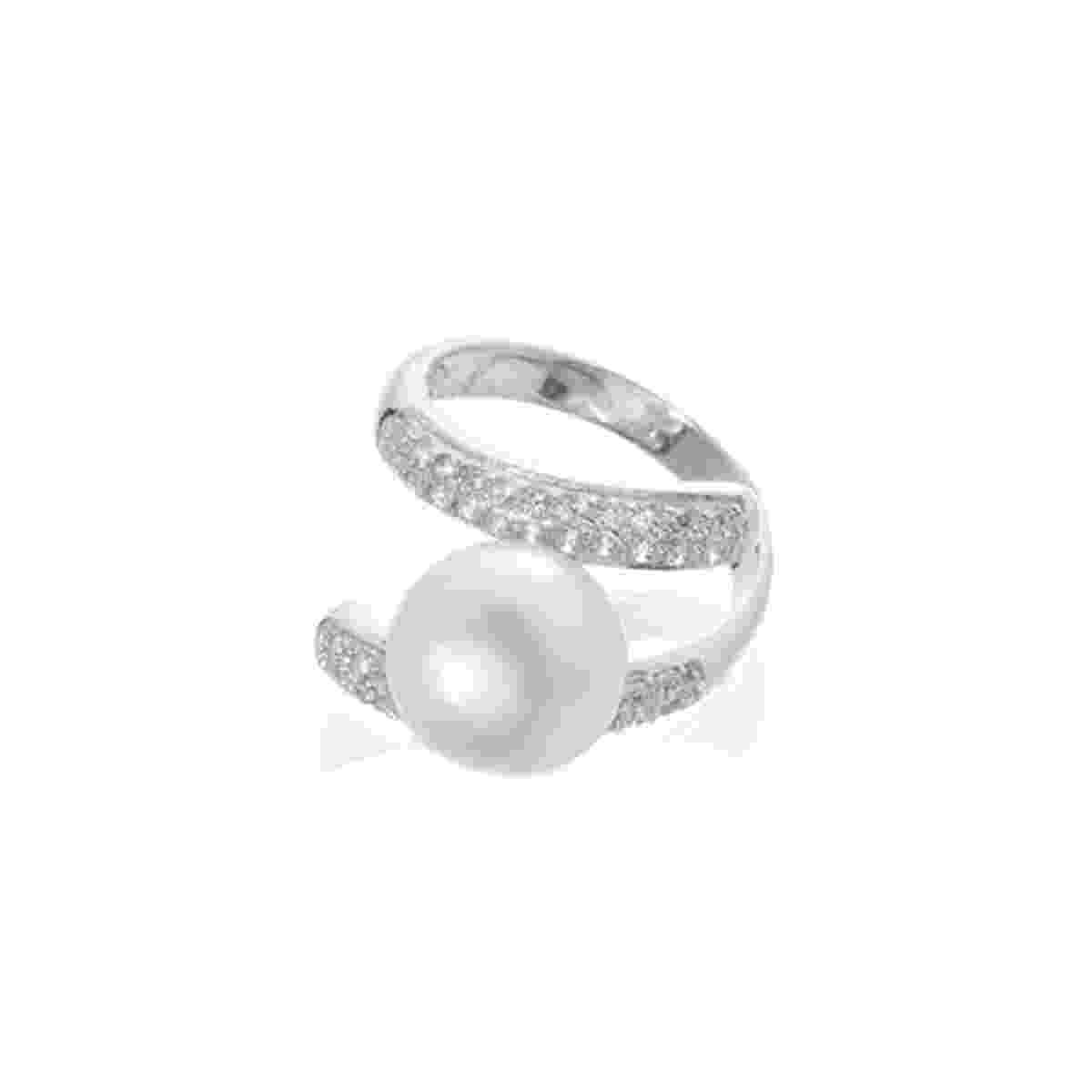 Casamento - Aneis de noivado com pérolas - 2 - Divulgação