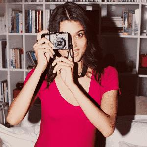 Daniela Braga em campanha de lingerie para a rede de departamentos Nordstrom - Reprodução