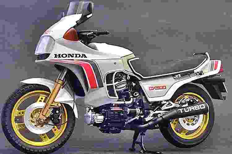 Honda CX 500 Turbo - Divulgação
